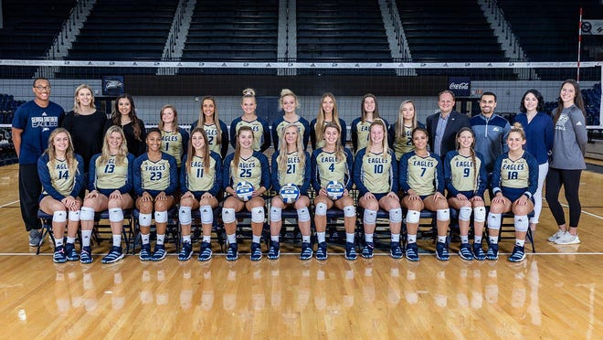 The Georgia Southern volleyball team will have to wait until September to play this season.