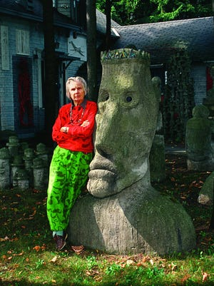 The life of Mary Nohl, the late Fox Point artist, would make a fine biopic.