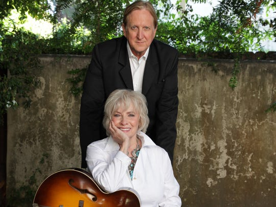 AP Betty Buckley and producer T-Bone Burnett, who teamed