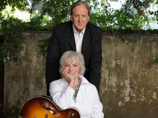 "AP Betty Buckley and producer T-Bone Burnett, who teamed up on Buckley's album ""Ghostlight."""