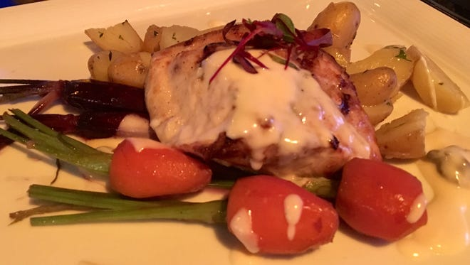 A cobia special from Jack's Farm to Fork on Fort Myers Beach.
