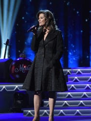 Singer-songwriter Amy Grant performs on stage during