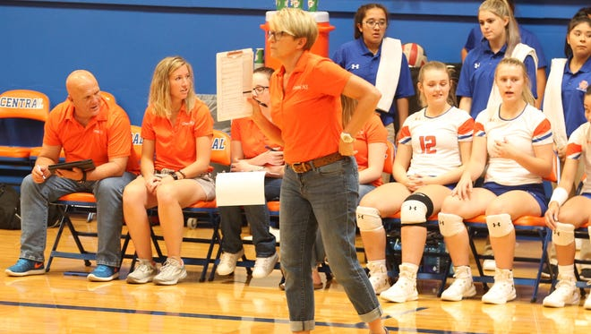 San Angelo Central High School's Connie Bozarth was selected as Coach of the Year on the 2018 All-District 3-6A Volleyball Team.