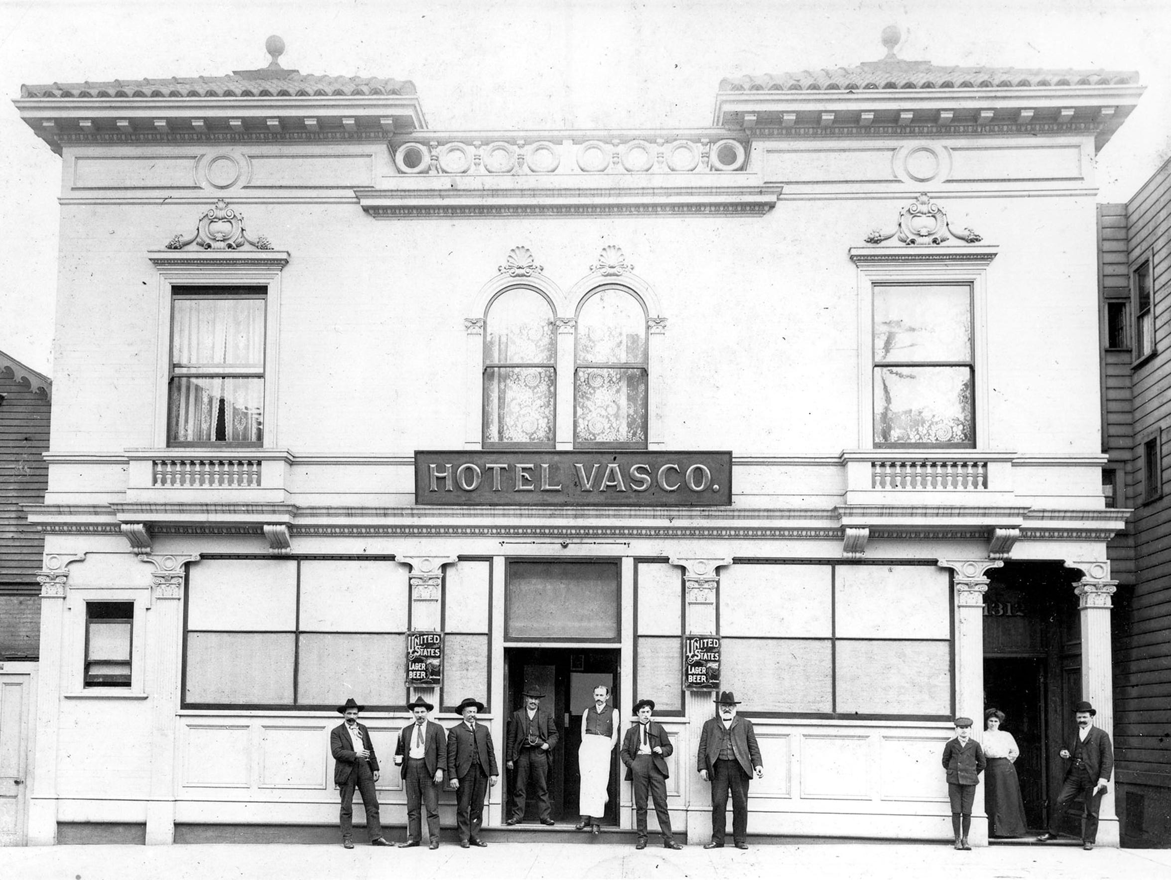 "Basque hotel named ""Hotel Vasco"" in San Francisco,"