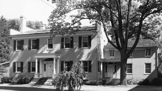 This South Main Street residence in Pittsford was built as a testament to love.