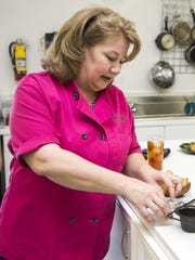 Sweet Basil Gourmetware & Cooking School chef Amy Barnes