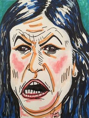 "Jim Carrey issued this caption for this March 17 tweet: ""This is the portrait of a so-called Christian whose only purpose in life is to lie for the wicked. Monstrous!"""