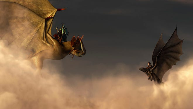 """A scene from """"How to Train Your Dragon 2."""""""