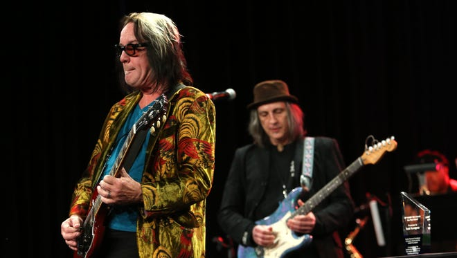 Todd Rundgren attends the NAMM Tec Awards at the Anaheim Hilton on January 24, 2014 in Anaheim, California.