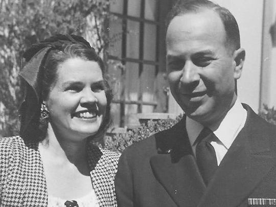 Eldred and his wife Suzanne.