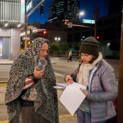 Counting on conversations with people who are homeless to reveal respect, gain resources