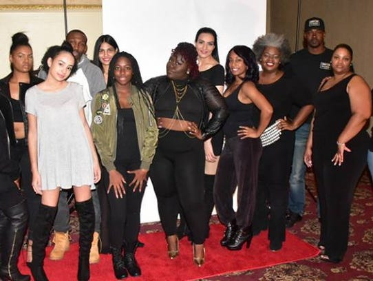 From Season 1 of the Runway In Rahway, models pose