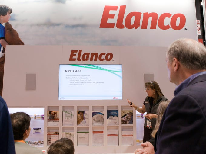 Lynda Green presents information about Elanco's new