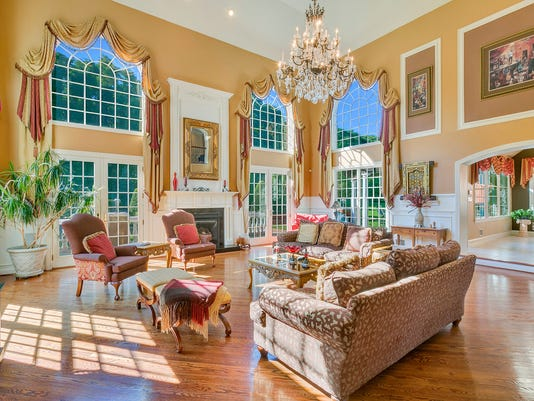 Get Through The Doors Of This Colts Neck Mansion