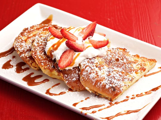 The tres leches French toast from Paz Cantina in Phoenix,