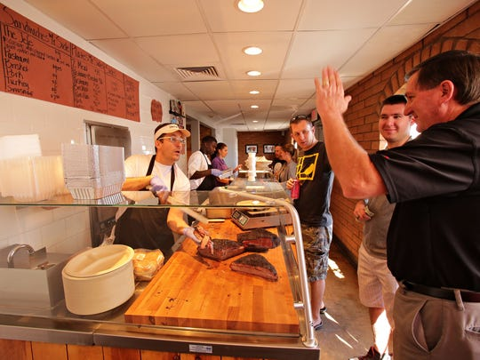 Little Miss BBQ: Skip breakfast and head to this popular