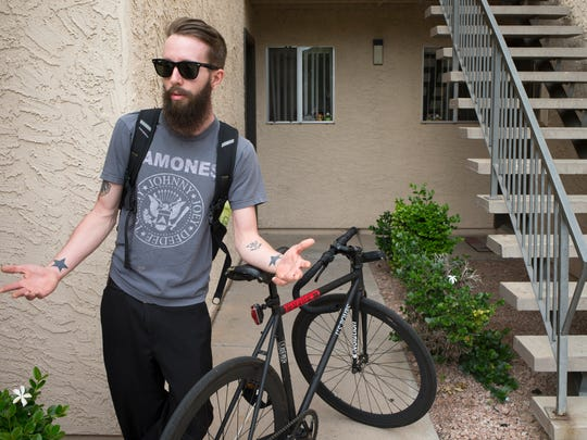 Jeremy Baggett talks about living in the Sorrento Apartments,