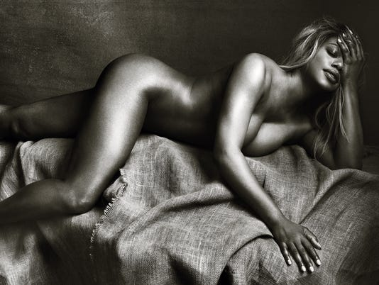 Laverne Cox poses nude to inspire transgender women