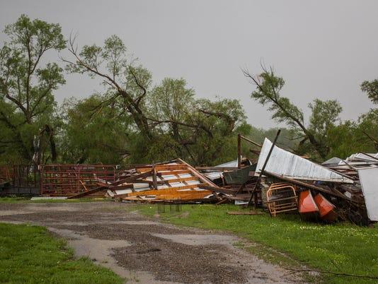 Tornado Alley earns its name: Storms roar in