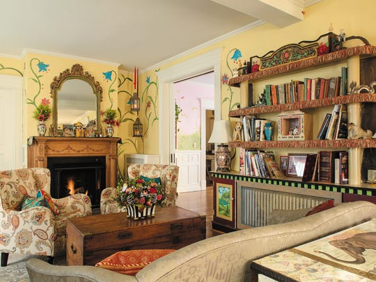 Nancy Wiley and Rob O'Brien have combined whimsy and elegance in their Main Street Victorian home.
