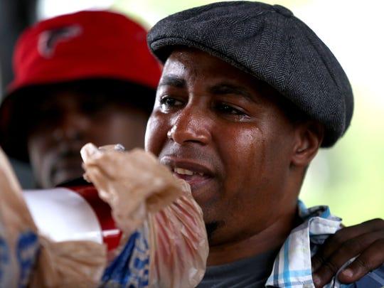 Brian Taylor with Black Lives Matter: Cincinnati cries