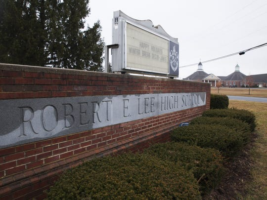 Staunton's Robert E. Lee High School.