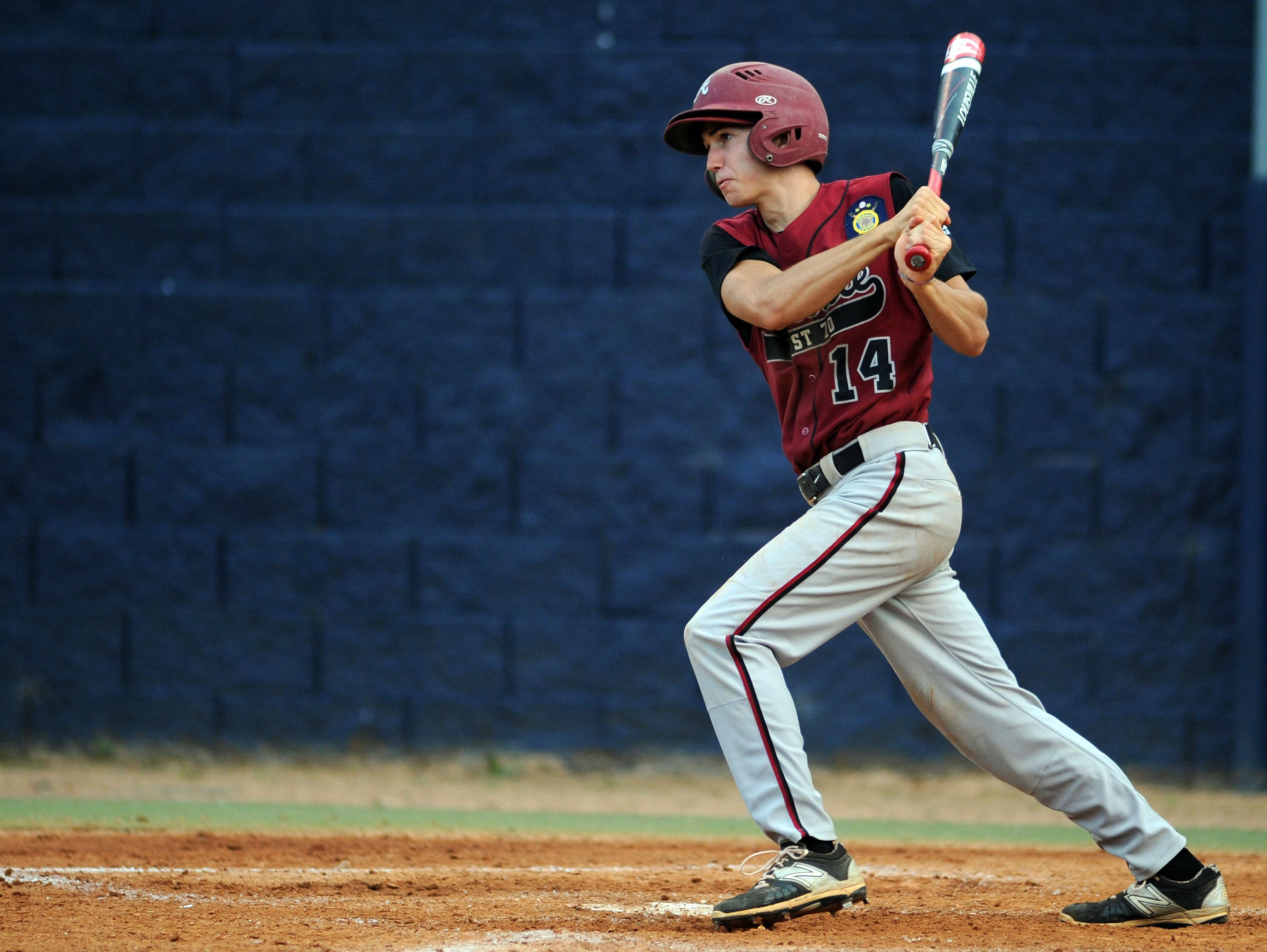 Nate Fore had the winning hit for Asheville Post 70 on Thursday night.