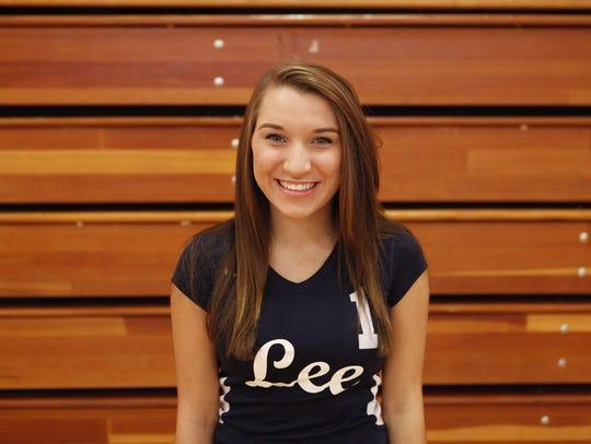 Lindsey Bosserman, sophomore.