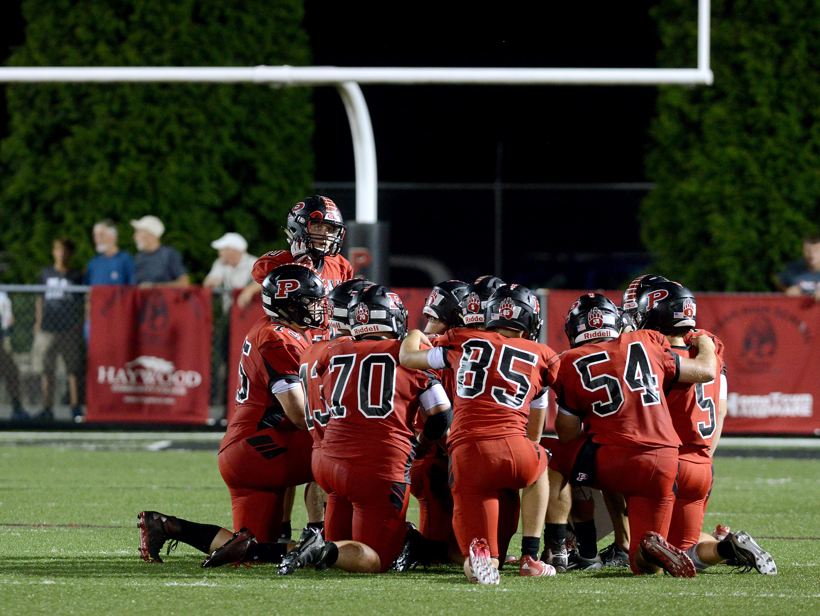 Pisgah is home for Friday's game against East Henderson in Canton.