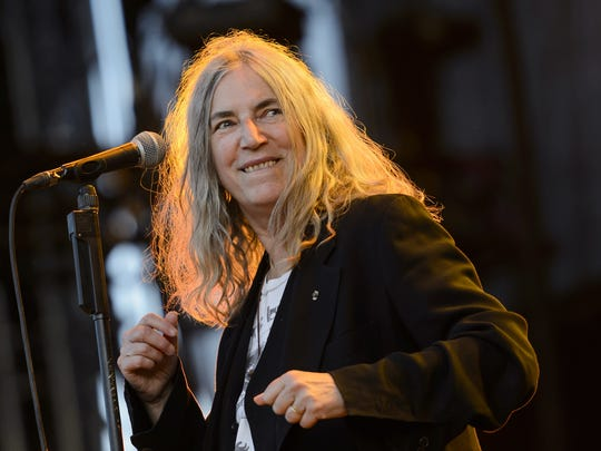 Patti Smith showed Memphis some love during her 2013 appearance at music fest. (Smith is pictured at the 40th Paleo Festival Nyon in Switzerland in 2015.)