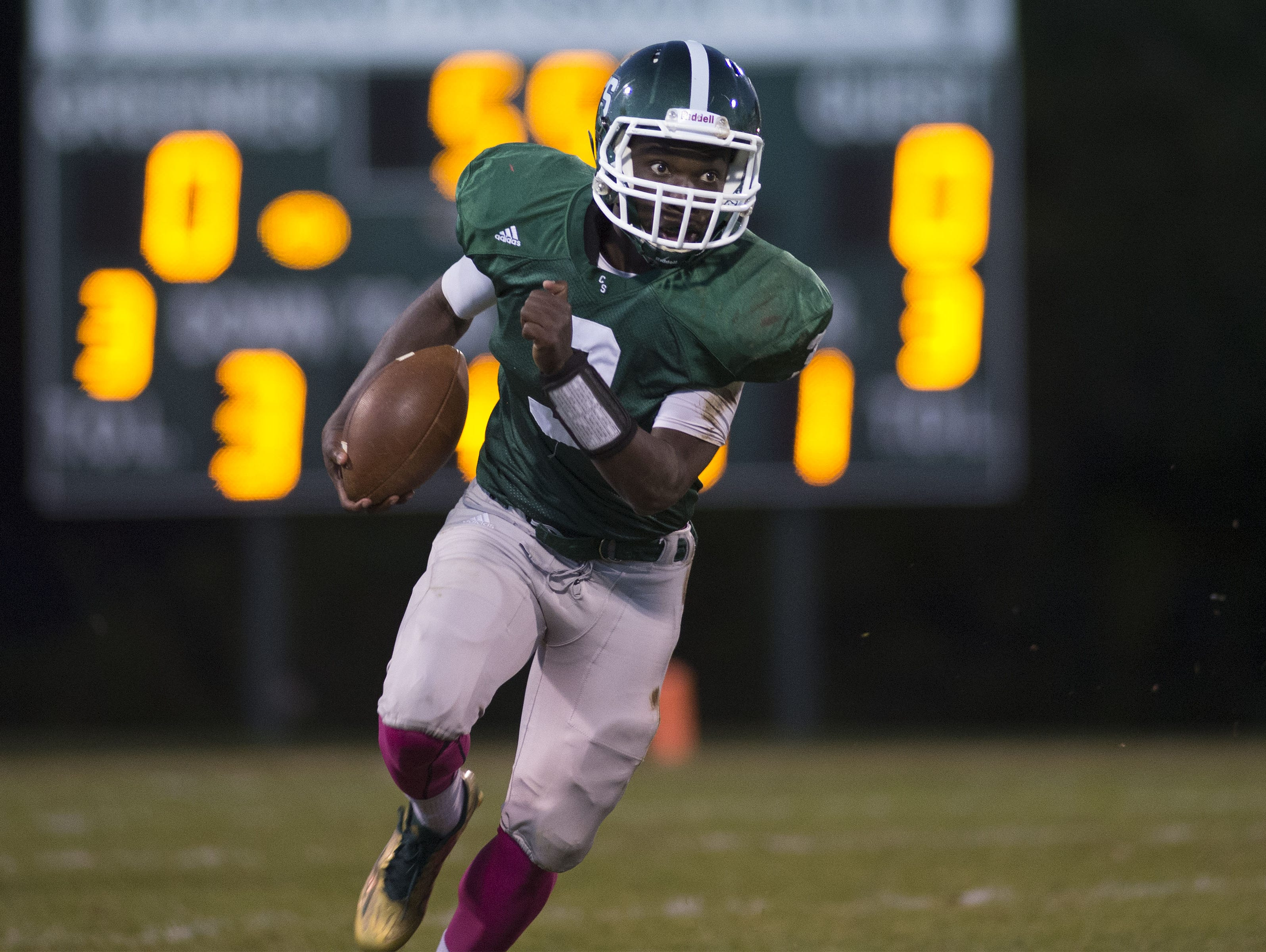 Kokayi Cobb and Christ School are back home for Friday's game against Hickory Grove Christian.