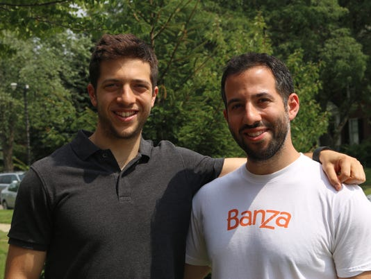 Banza founders Brian Rudolph (left) and brother Scott