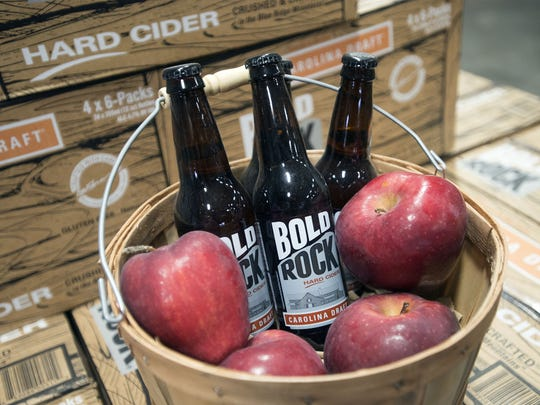 Bold Rock Hard Cider has opened a tasting room and retail shop in Mills River, North Carolina, an hour from the Upstate.