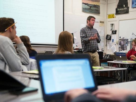Asheville High School teacher Will Smith discusses