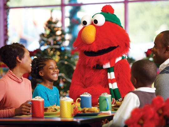 Elmo wants some hot chocolate, please!