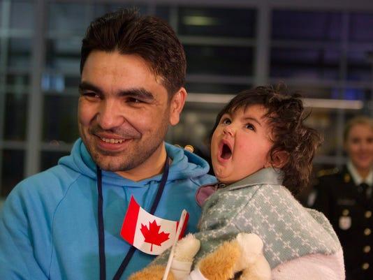 AP CANADA SYRIA REFUGEES I CAN