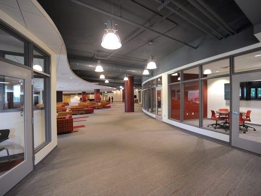The Corbett Center Student Union (CCSU) second-floor