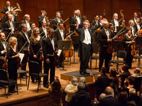 Louis Langrée, music director of the Cincinnati Symphony Orchestra, had two standing ovations from their All-Tchaikovsky program; at New York's Lincoln Center.