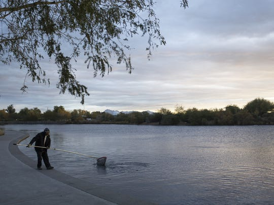 Gilbert's Riparian Preserve is a key attraction for