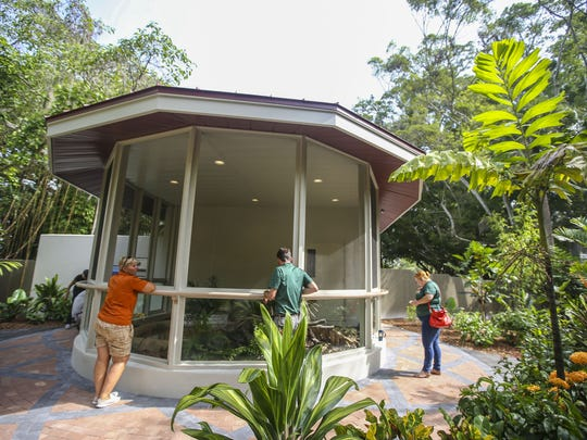 Naples Zoo  python exhibit opened in 2015.