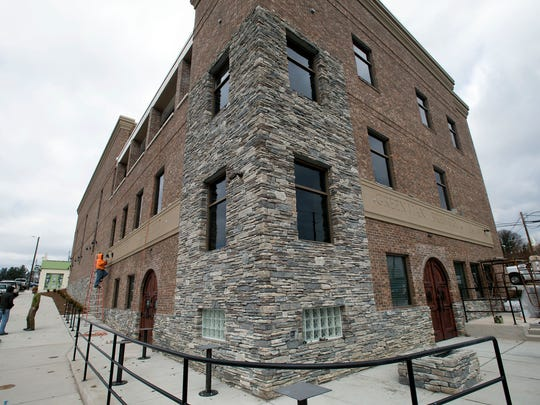 The outside of Green Man Brewing Company's new 20,000