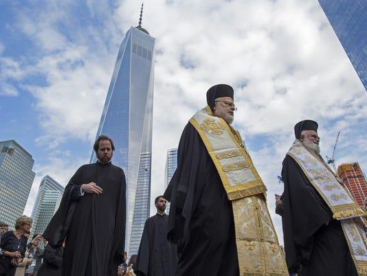AP WORLD TRADE CENTER CHURCH A USA NY