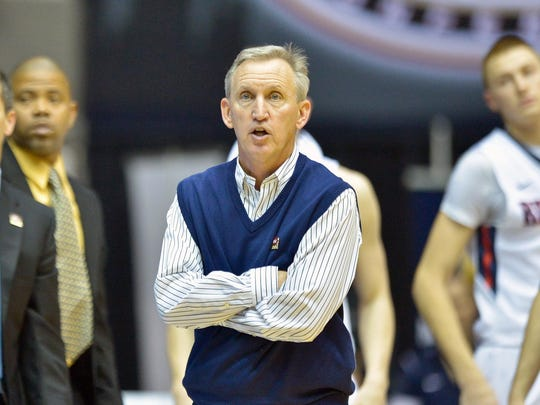 Belmont coach Rick Byrd has led the Bruins to eight