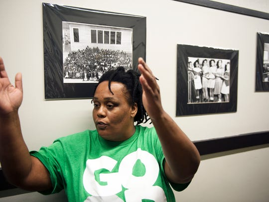 Shuvonda Harper, of the Arthur R. Edington Education & Career Center talks about Asheville's African American history and how change is affecting the preservation of those historic areas and neighborhoods at the Arthur R. Edington Education & Career Center.