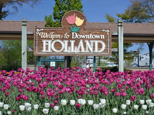 Tulip Time in Holland.