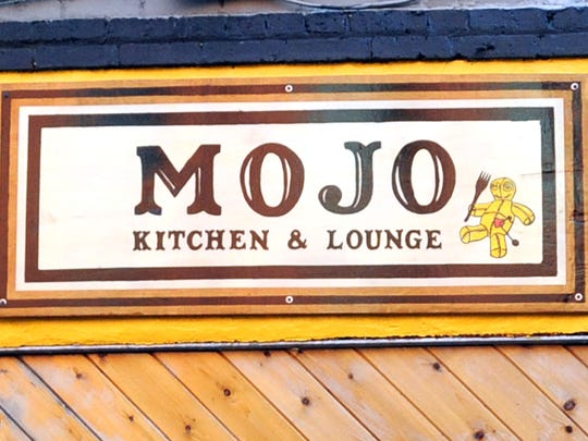 The Mojo Kitchen and Lounge at 55 College St. in downtown Asheville.