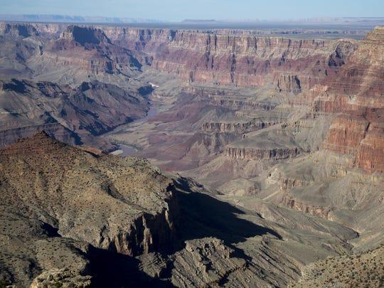 Navajo Point, February 19, 2016, Grand Canyon, Arizona.
