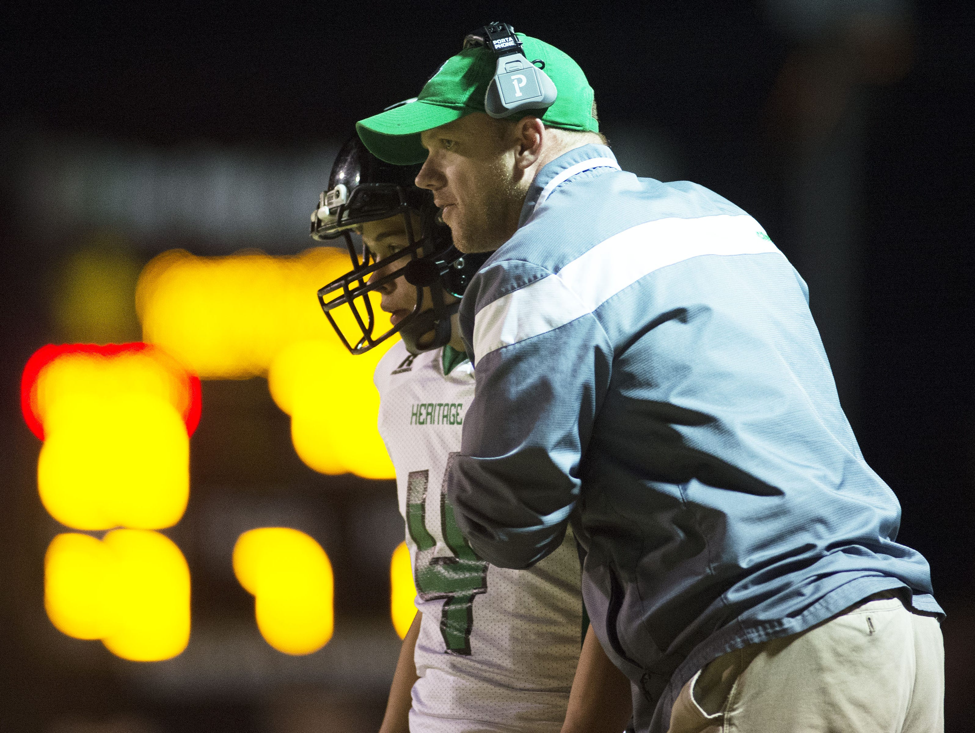Western Highlands Conference president Joey Robinson is also the athletic director and football coach at Mountain Heritage.