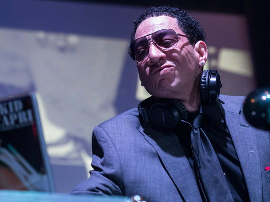 DJ Kid Capri brought the late night jams to the annual