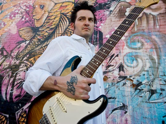 Blues dude Mike Zito plugs in on Tuesday at The Junction @ Monroe.
